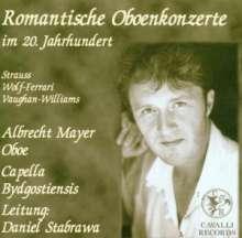 Albrecht Mayer spielt Oboenkonzerte des 20.Jh., CD