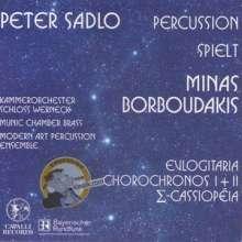 Minas Borboudakis (geb. 1974): Chorochronos I für 2 Klaviere & 2 Schlagzeuger, CD