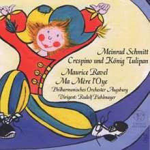 Meinrad Schmitt (geb. 1935): Crespino & König Tulipan oder Spaziergang mit Mozart, CD