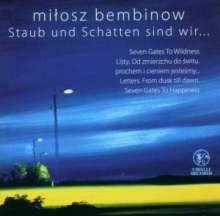 Milosz Bembinow (geb. 1978): Staub & Schatten für Sopran & Kammerorchester, CD