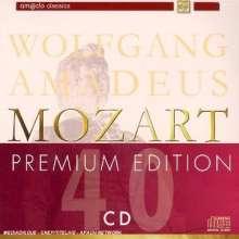 Wolfgang Amadeus Mozart (1756-1791): Wolfgang Amadeus Mozart - Premium Edition, 40 CDs