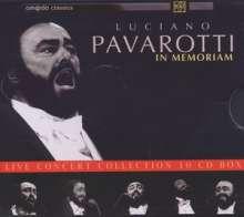 Luciano Pavarotti In Memoriam 10 Cds Jpc