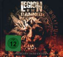 Legion Of The Damned: Descent Into Chaos (Limited Deluxe Edition) (CD + DVD), CD