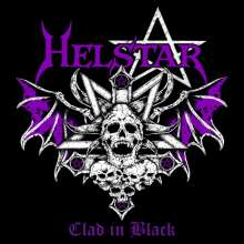 Helstar: Clad In Black (Limited Numbered Edition) (White Vinyl), LP