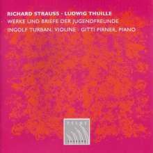 Ludwig Thuille (1861-1907): Violinsonate op.1, CD