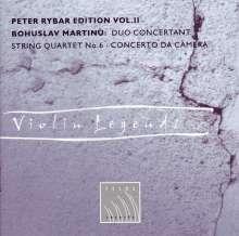 Bohuslav Martinu (1890-1959): Duo concertant für 2 Violinen & Orchester Nr.2, CD