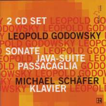 Leopold Godowsky (1870-1938): Klavierwerke, 2 CDs