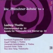 Ludwig Thuille (1861-1907): Klavierquintett op.20, CD