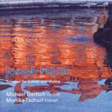 Joseph Haydn (1732-1809): Sonaten f.Violine & Klavier, CD