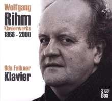 Wolfgang Rihm (geb. 1952): Klavierwerke, 3 CDs