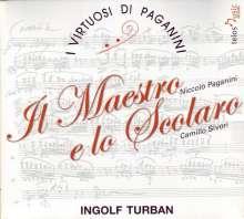 I Virtuosi Di Paganini - Il Maestro e lo Scolaro, CD