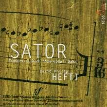"David Philip Hefti (geb. 1975): Klarinettenkonzert ""Sator"", CD"