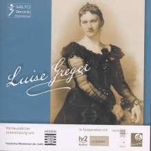 Luise Greger (1862-1944): Lieder, CD