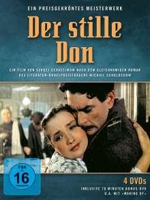 Der stille Don (Gesamtausgabe), 4 DVDs