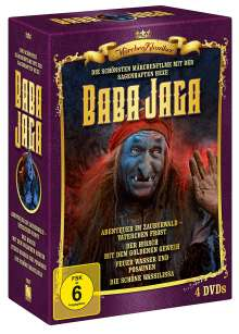 Hexe Baba Jaga Edition, 4 DVDs