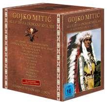 Gojko Mitic - Alle DEFA-Indianerfilme, 12 DVDs