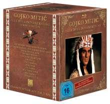 Gojko Mitic - Alle DEFA-Indianerfilme (Blu-ray), 12 Blu-ray Discs