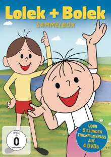 Lolek & Bolek (Sammelbox), 4 DVDs