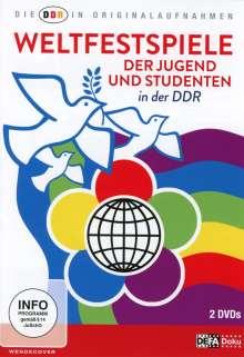 Die DDR in Originalaufnahmen: Weltfestspiele der Jugend und Studenten, 2 DVDs