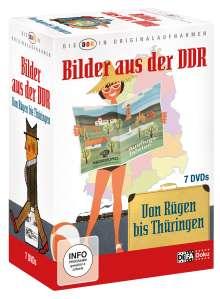 Die DDR in Originalaufnahmen: Bilder aus der DDR, 7 DVDs