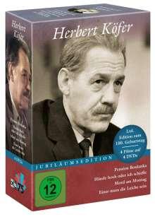 Herbert Köfer (Jubiläumsedition) (4 Filme), 4 DVDs