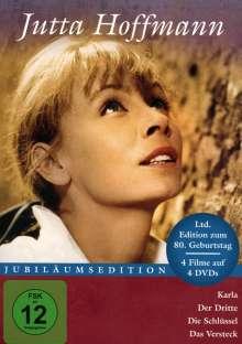 Jutta Hoffmann (Jubiläumsedition) (4 Filme), 4 DVDs