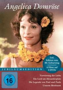 Angelica Domröse (Jubiläumsedition) (4 Filme), 4 DVDs