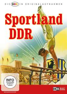 Die DDR in Originalaufnahmen: Sportland DDR, DVD