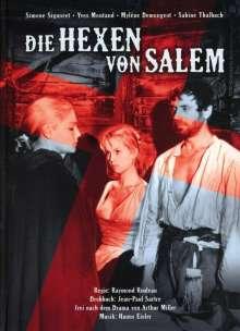Die Hexen von Salem (Kurz- und Langfassung im Mediabook) (Blu-ray), 2 Blu-ray Discs