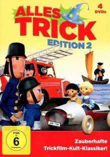 Alles Trick Edition 2, 4 DVDs