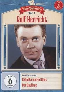Rolf Herricht: Geliebte weiße Maus / Der Baulöwe, 2 DVDs