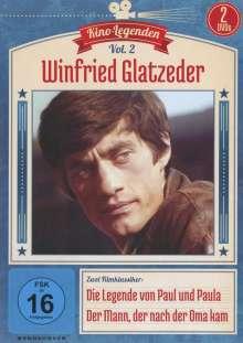 Winfried Glatzeder: Die Legende von Paul und Paula / Der Mann, der nach der Oma kam, 2 DVDs