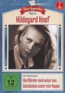 Hildegard Knef: Die Mörder sind unter uns / Geständnis unter vier Augen, 2 DVDs