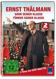 Ernst Thälmann 1 & 2 (Führer & Sohn seiner Klasse), 2 DVDs