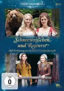 Schneeweißchen und Rosenrot (Doppeledition) (ARD-Verfilmung 2012 & DEFA-Klassiker 1978), 2 DVDs