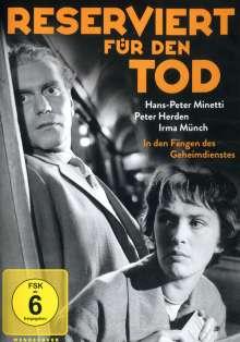 Reserviert für den Tod, DVD