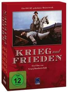 Krieg und Frieden (1967), 4 DVDs