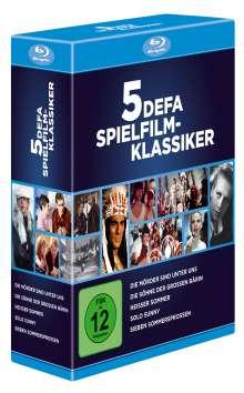 5 DEFA Spielfilm-Klassiker (Blu-ray), 5 Blu-ray Discs