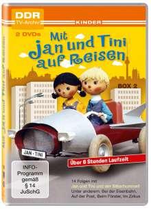Mit Jan und Tini auf Reisen Box 2, 2 DVDs
