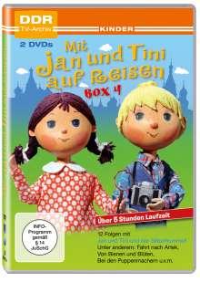 Mit Jan und Tini auf Reisen Box 4, 2 DVDs