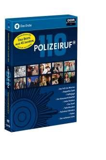 Polizeiruf 110 (Jubiläums-Edition), 5 DVDs
