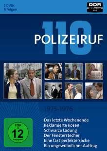 Polizeiruf 110 Box 4: 1975-1976, 2 DVDs