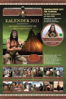 Gojko Mitic Kalender 2021 (inkl. DVD »Die Söhne der großen Bärin«), 1 DVD und 1 Kalender
