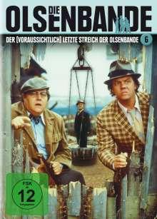 Die Olsenbande 6: Der (voraussichtlich) letzte Streich, DVD