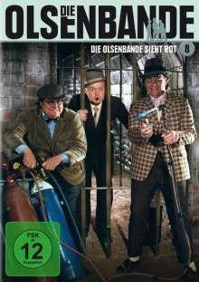 Die Olsenbande 8: Die Olsenbande sieht rot, DVD