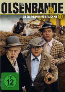 Die Olsenbande 11: Die Olsenbande ergibt sich nie, DVD