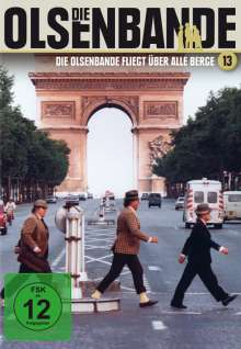 Die Olsenbande 13: Die Olsenbande fliegt über alle Berge, DVD