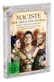 Maciste - Held von Sparta, DVD