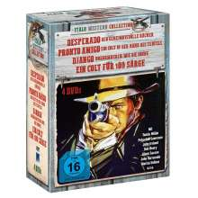 Italo Western Collection, 4 DVDs
