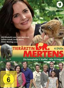 Tierärztin Dr. Mertens Staffel 1, 4 DVDs